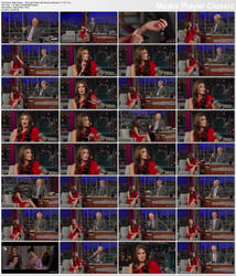 Nikki Reed ~ The Late Show with David Letterman 11/15/11 (HDTV)