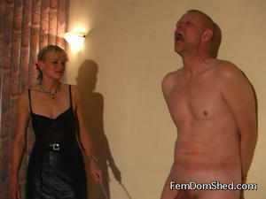 Femdom Shed: CANNING BELLY