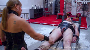 Domina-Bizarre: Lady Mercedes - Need for training  (Part 1-4)