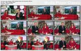 Sian Williams - leg crossing tights - BBC Breakfast News 23rd December 2009