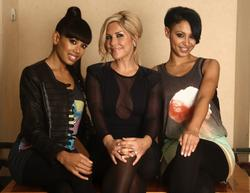 The Sugababes In Black Nylons